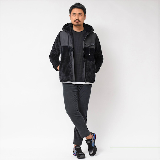 SeaGreen(シーグリーン) クルーネック・ボアパーカー 2019fwCollection!!