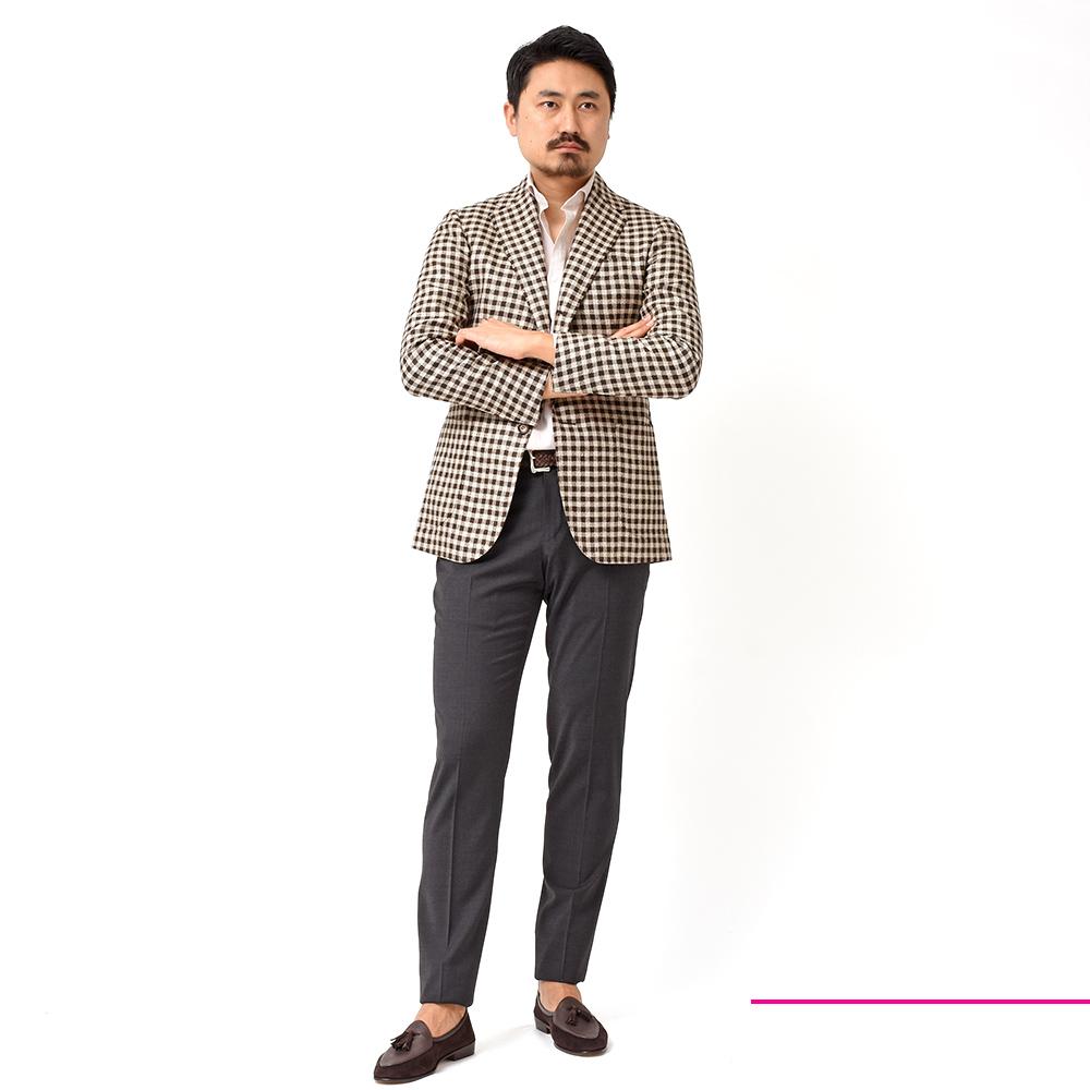 """""""いい塩梅!?""""のジャケットとドレスシャツ Stile Latino(スティレ ラティーノ)"""