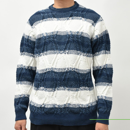 SeaGreen(シーグリーン) クルーネックカットソー・ボーダーニット 2020fwCollection!