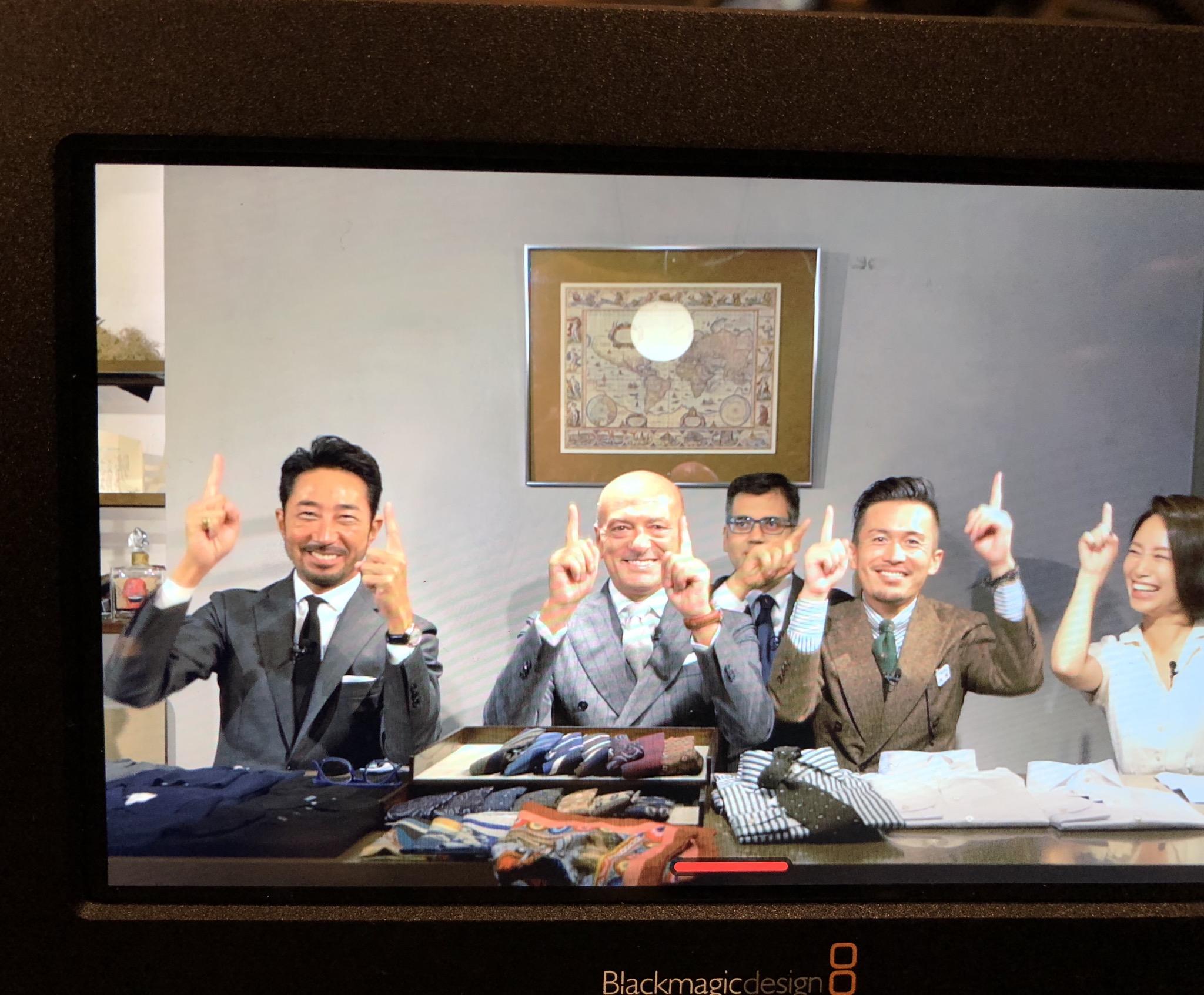 伊勢丹新宿メンズ館公開収録でした!