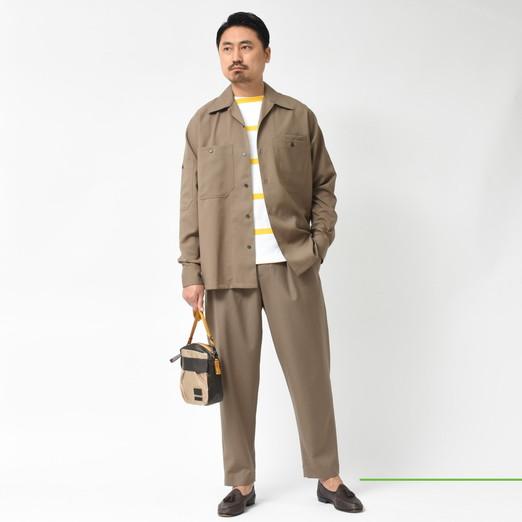 MARNI(マルニ) オープンカラーシャツ・シャーリングパンツ・ワークシャツ・ナイロンパーカー 2020ssCollection!