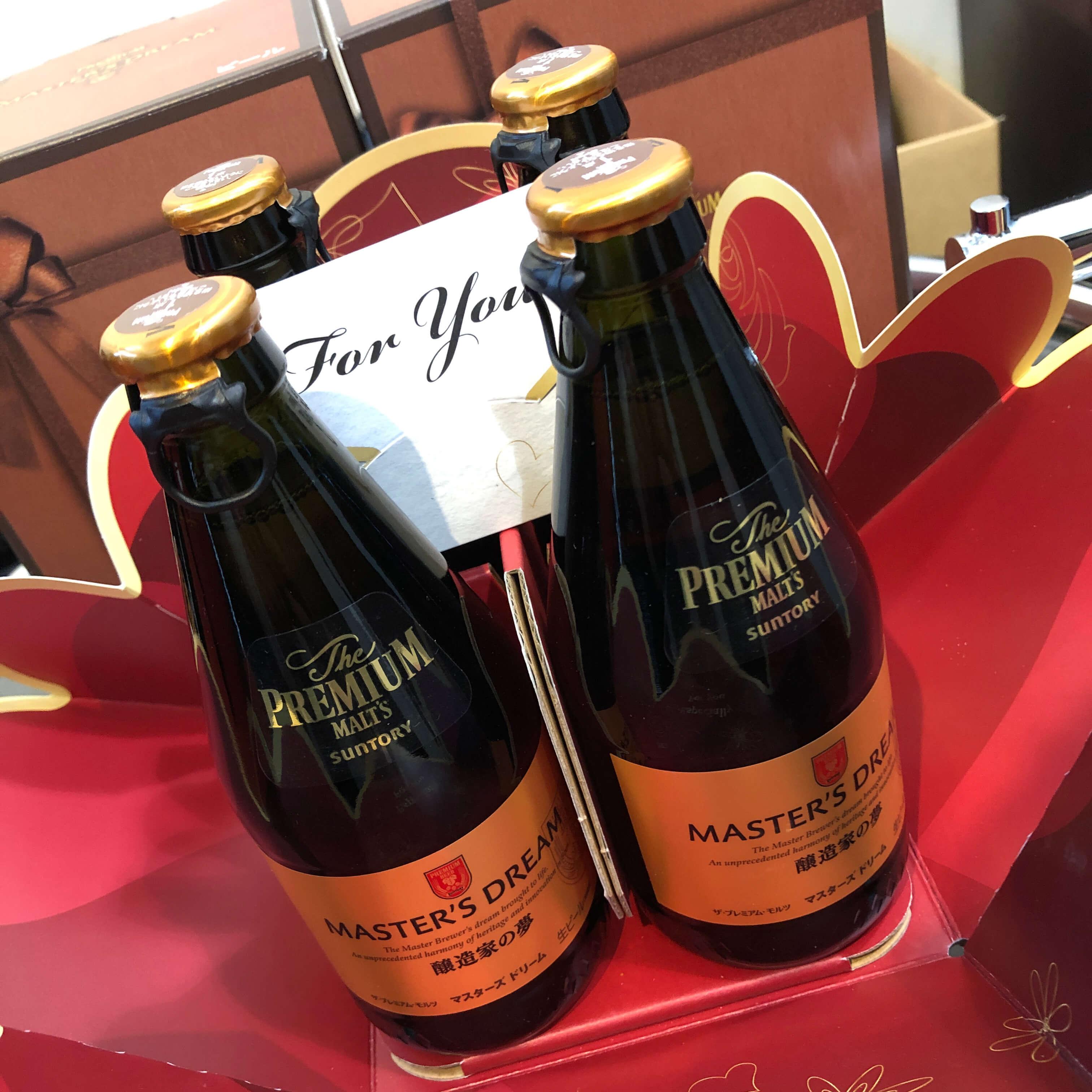バレンタインビール、最高!