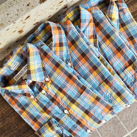 MORE PLAIDS!! INDIVIDUALIZED SHIRTS