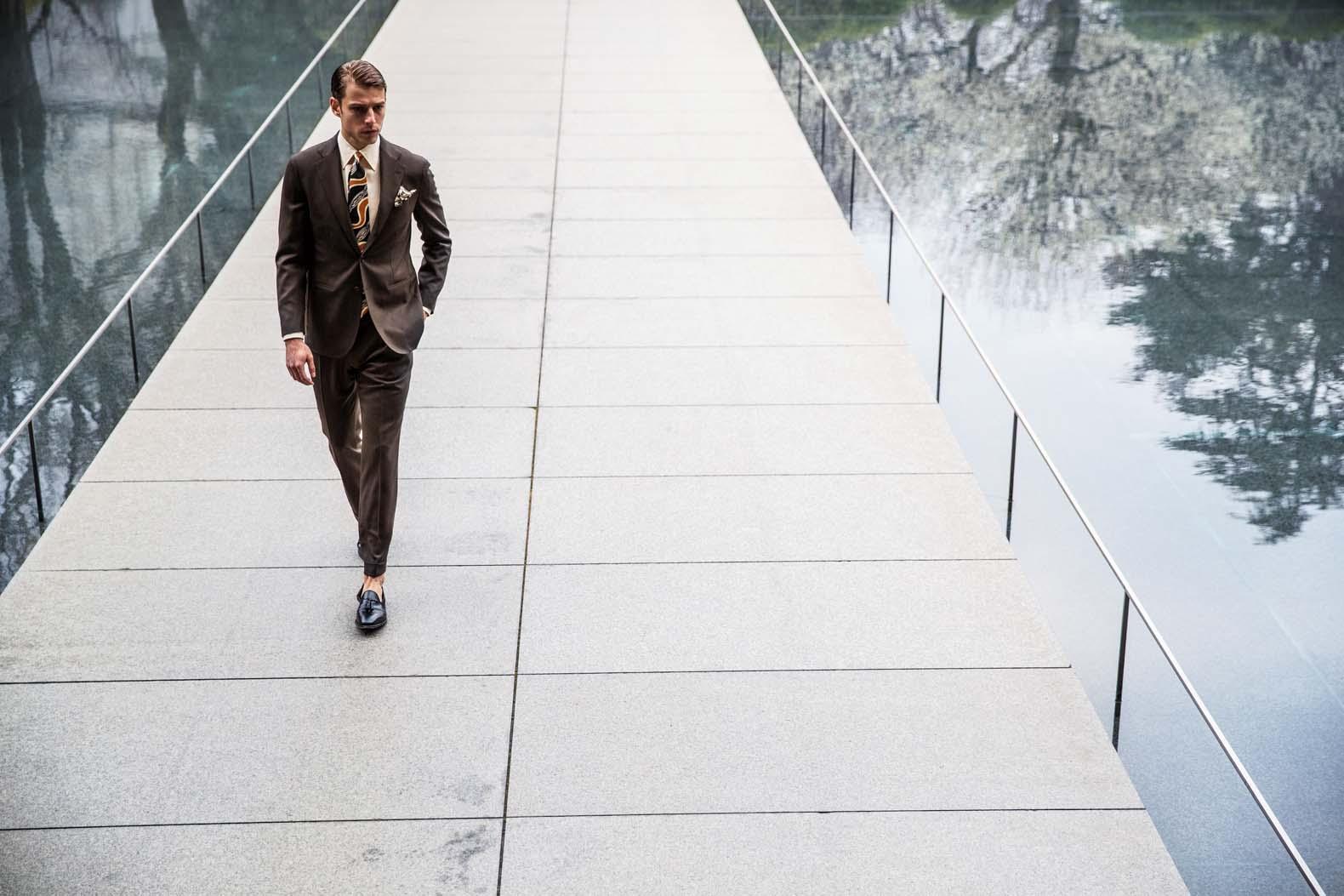 スーツはもはや仕事着だけではない。