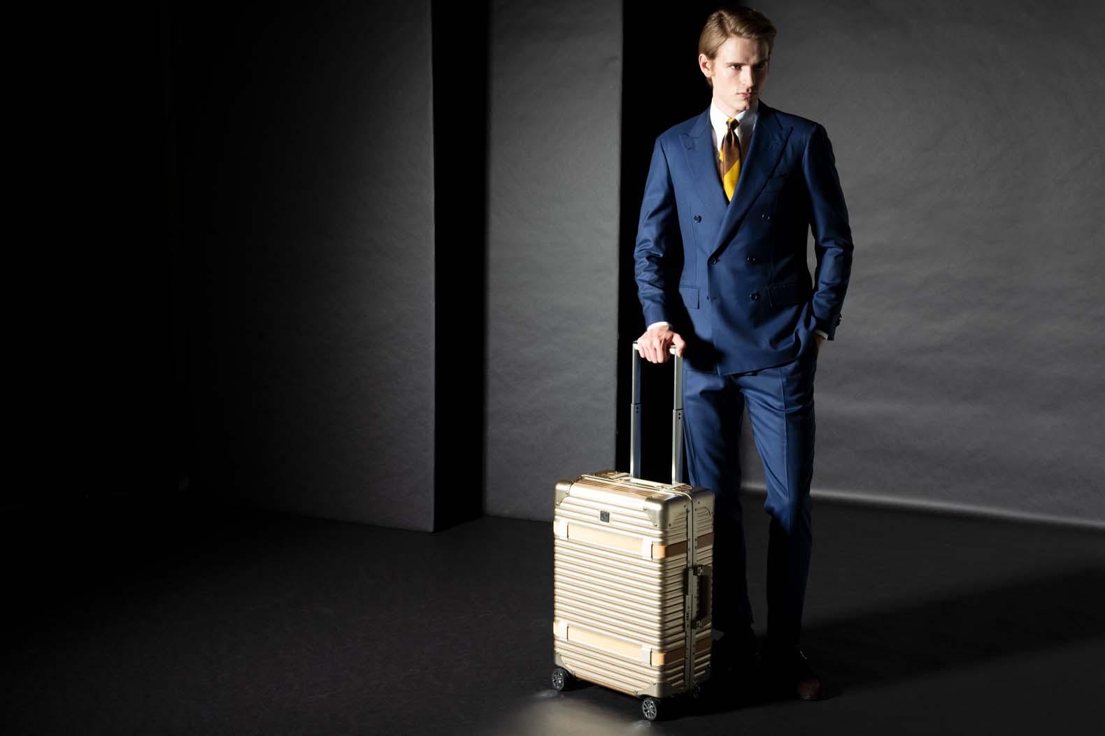 旅慣れた人に刺さる、新進スーツケースブランド 「ランツォ」 が日本に本格上陸