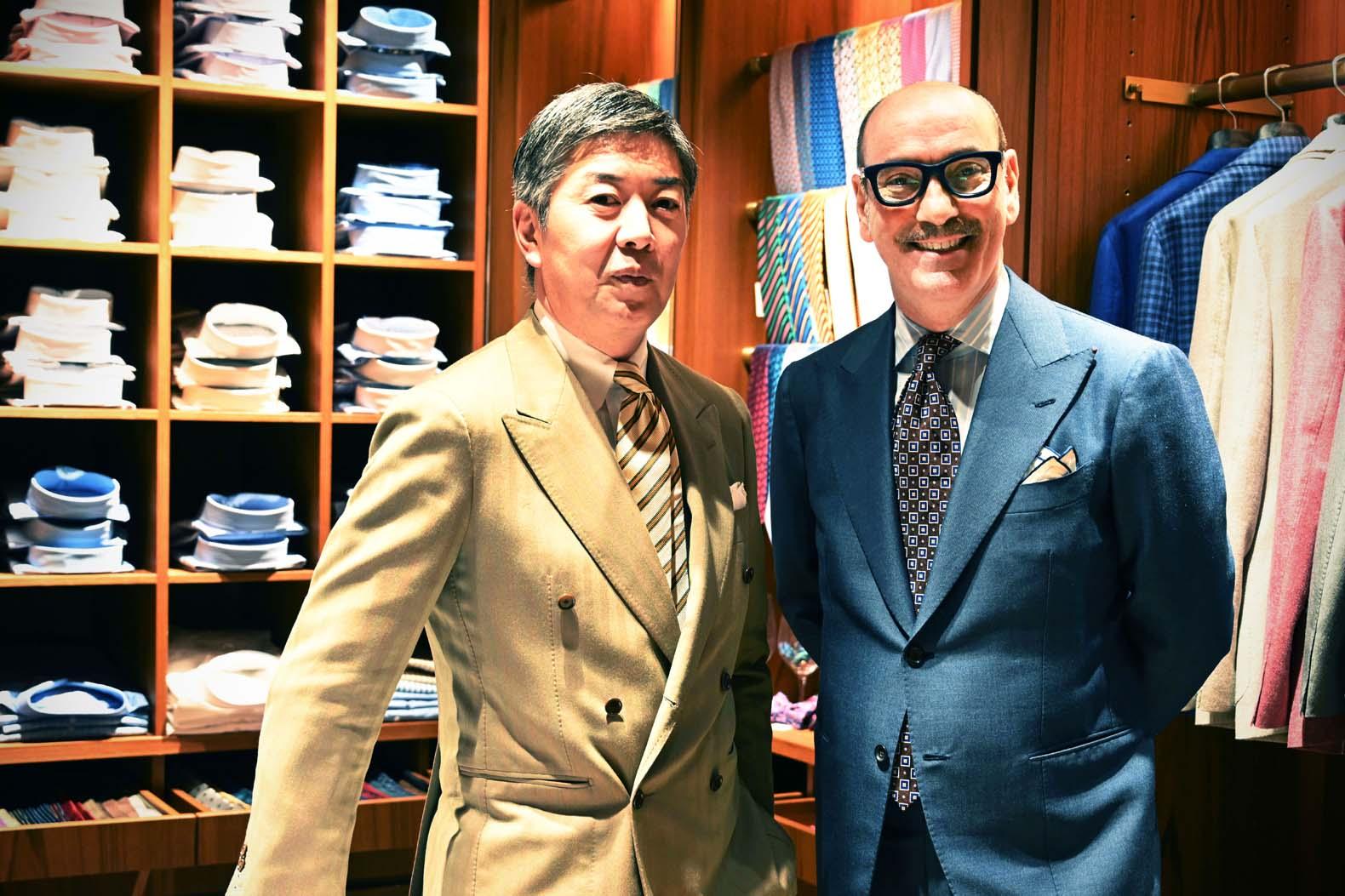 ユナイテッド アローズ ディレクターが語る 世界に通用するドレスシャツ AVINO