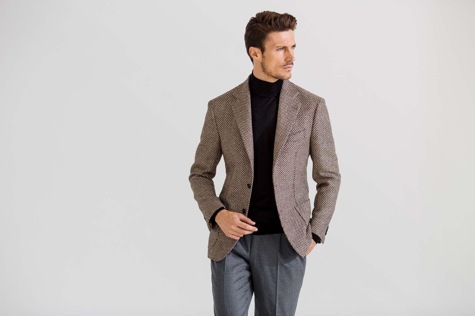 モダンで都会的に見えるジャケットは何が違うのか?