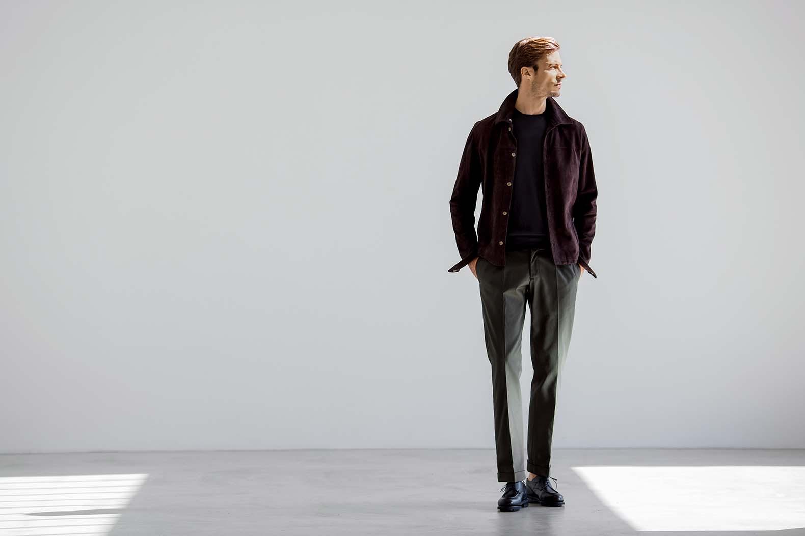ヴィンテージリッチを体現する 「GBS trousers」
