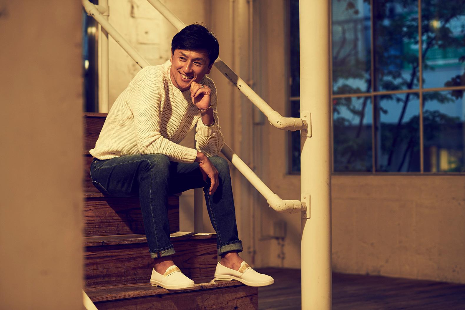 街履きできるリゾート靴は 戸賀プロデュースのリビエラで決まり !