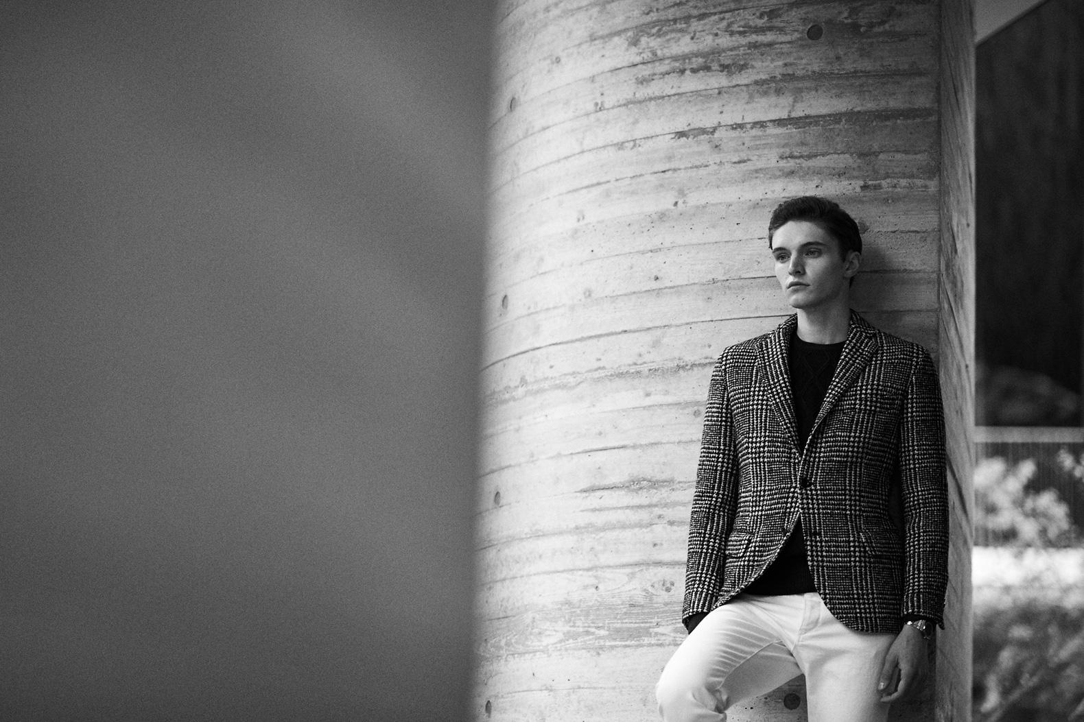 ラグジュアリーな英国トレンドが薫る nano LIBRARYのジャケット&コート