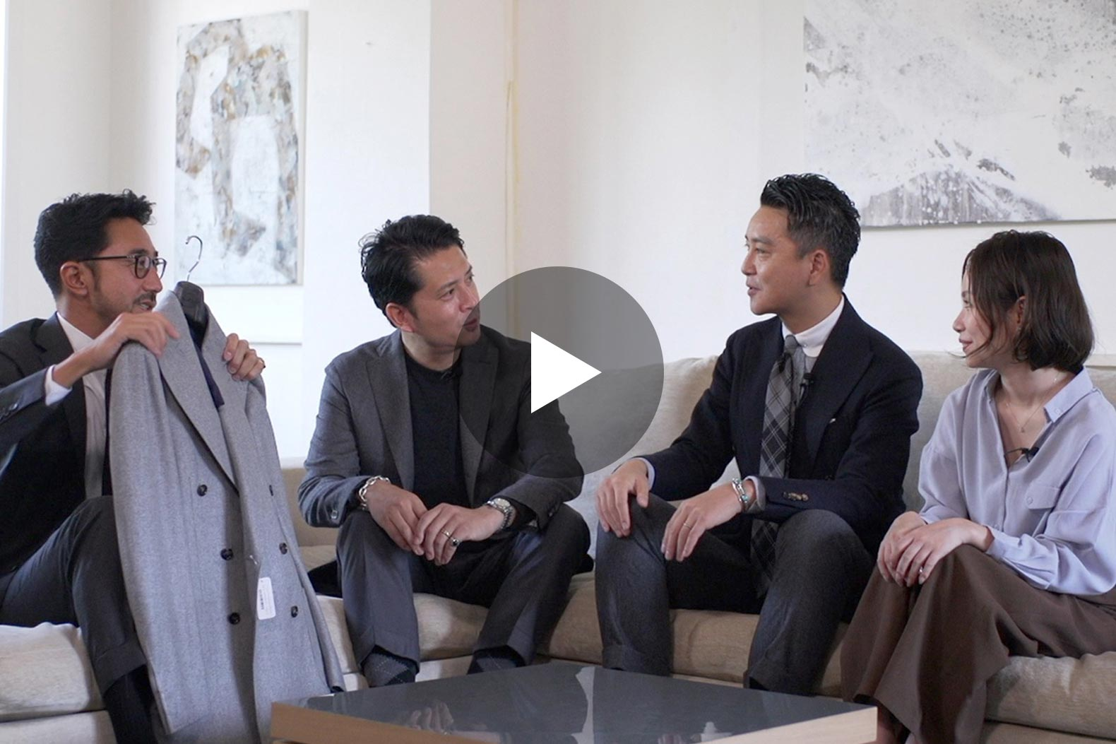 今最もスマートな 「モノトーン×イタリア」 MIXコーデ一挙紹介! 男の色気の作り方
